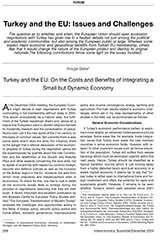Turkey and the EU: Issues and Challenges | 50 Years of Intereconomics
